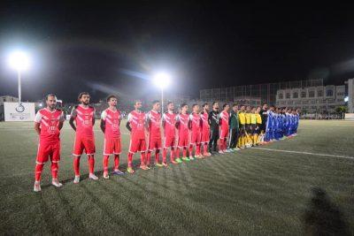 تتويج وحدة صنعاء في ختام بطولة الملتقى الرمضاني الثالث بعد الفوز على الأهلي