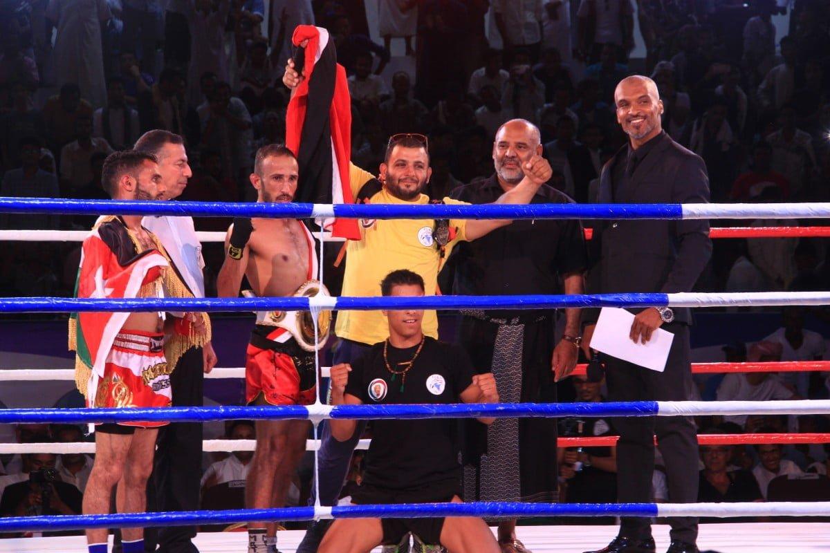 اليمن يفوز على الأردن في بطولة الملاكمة العربية للمحترفين بسيئون