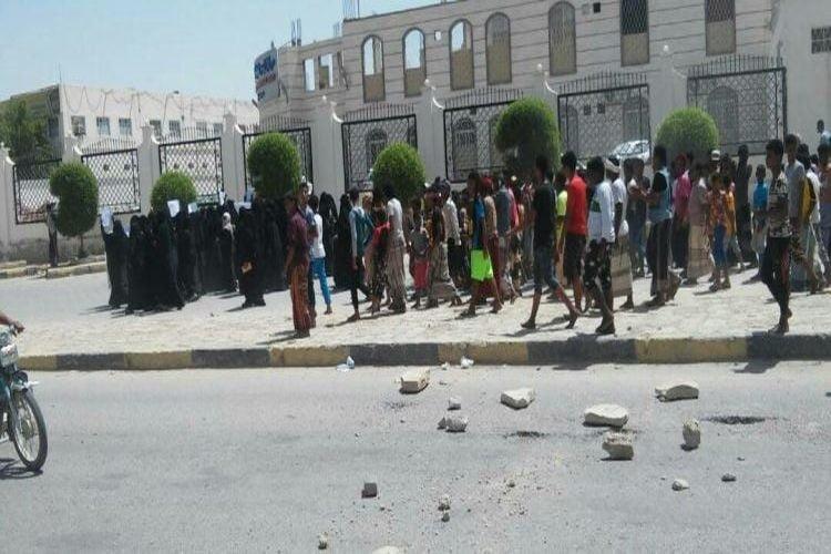 احتجاجات في حضرموت بسبب انقطاع الكهرباء