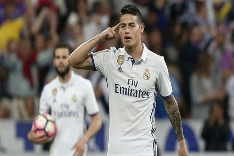 انتقال خاميس لأتلتيكو بيد رئيس ريال مدريد فلورنتينو بيريز
