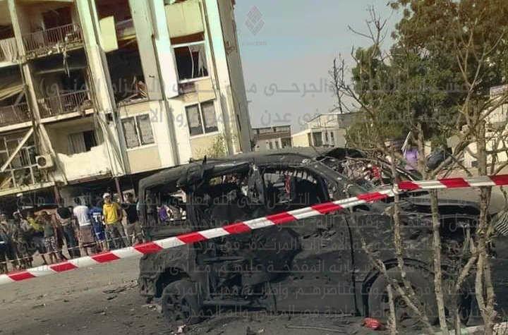 داعش يتبنى التنفجير الانتحاري ضد شرطة الشيخ عثمان في عدن