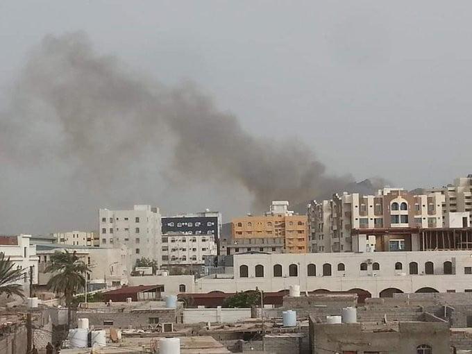 تواصل المواجهات ومحاصرة سكان في عدن جنوبي اليم