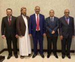 وفد المجلس الانتقالي الجنوبي إلى حوار جدة السعودية