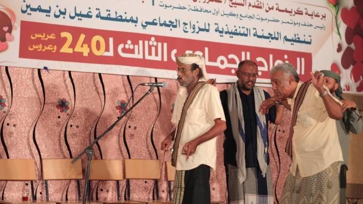 أحداث عدن تحضر مساجلات سمر الدان في غيل بن يمين حضرموت
