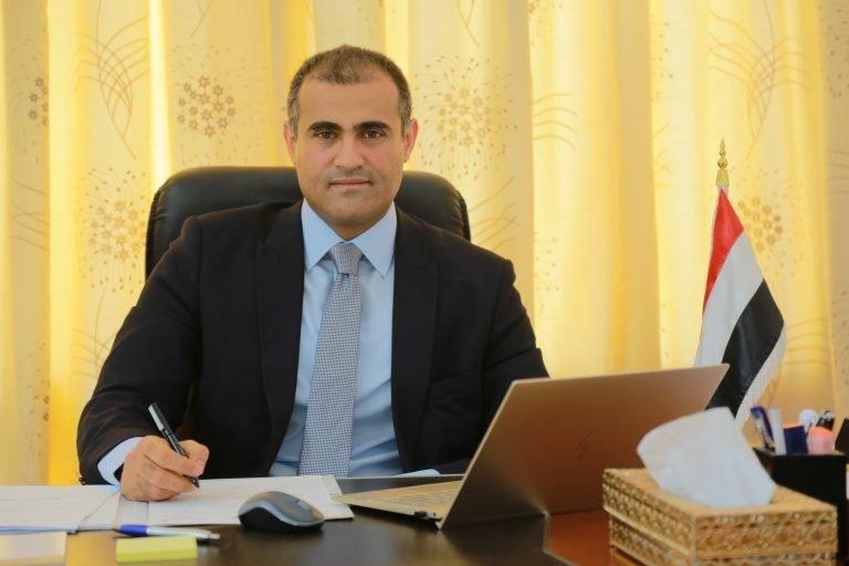 نائب وزير الخارجية اليمني محمد عبدالله الحضرمي