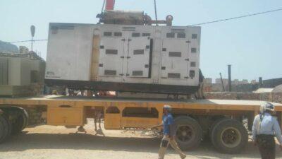 نهب مولدات من مؤسسة الكهرباء في سقطرى واتهام المندوب الإماراتي خلفان المزروعي