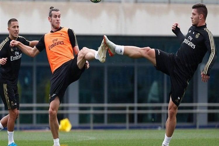 ريال مدريد يستعد لمواجهة باريس سان جيرمان في دوري أبطال أوروبا