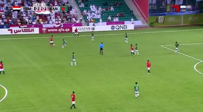 مباراة اليمن أمام بنغلاديش في الدوحة تصفيات آسيا تحت 16 سنة
