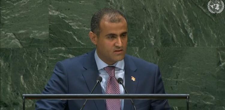 بالفيديو – نص كلمة اليمن التي ألقاها الحضرمي في الأمم المتحدة