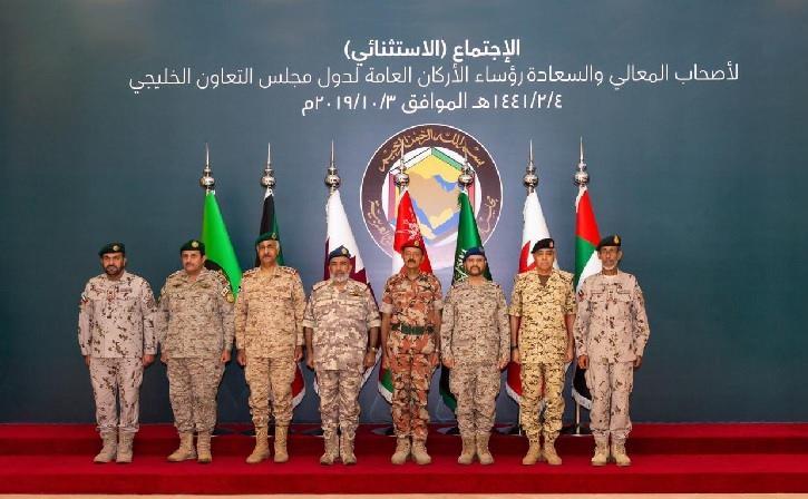 أبرز ما جاء في ختام اجتماع رؤساء أركان دول الخليج في السعودية