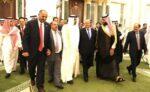خلال توقيع اتفاق الرياض حول جنوب اليمن