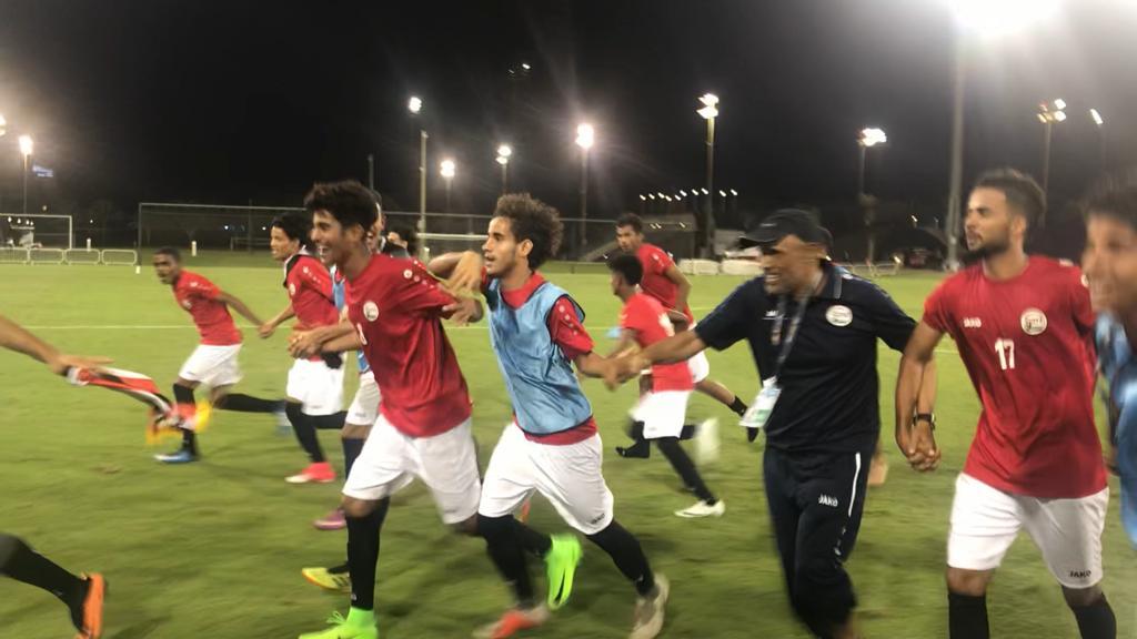 منتخب الشباب اليمني يفوز على تركمانستان في تصفيات كأس آسيا
