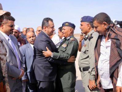رئيس الحكومة معين عبدالملك عدن, بالصور.. رئيس الحكومة معين عبدالملك يعود إلى عدن – أول تصريح