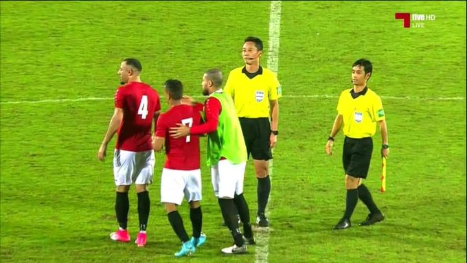 مباراة اليمن مع منتخب سنغافورة