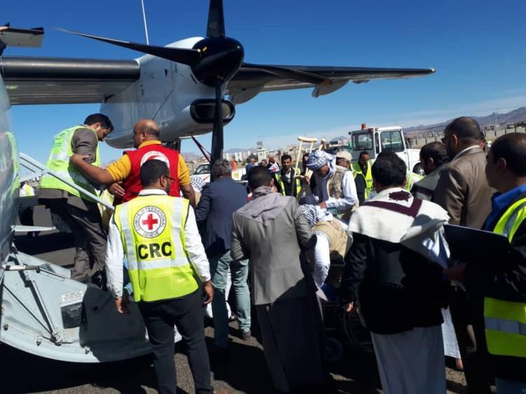 الصليب الاحمر يكشف تفاصيل نقل 128 من الأسرى الحوثيين في السعودية