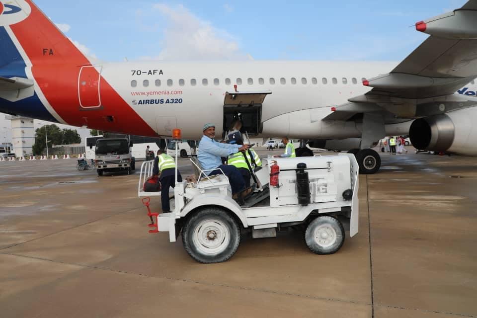 مطار الريان يستقبل أولى الرحلات الجوية بعد توقف لسنوات