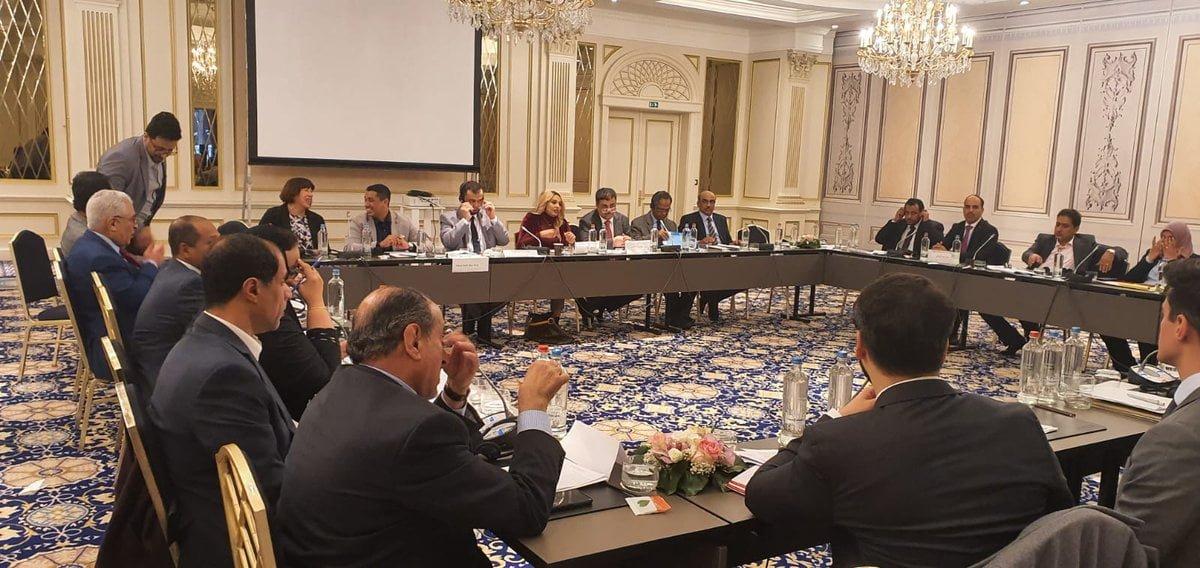 لقاء بروكسيل للعديد من القيادات الجنوبية في اليمن