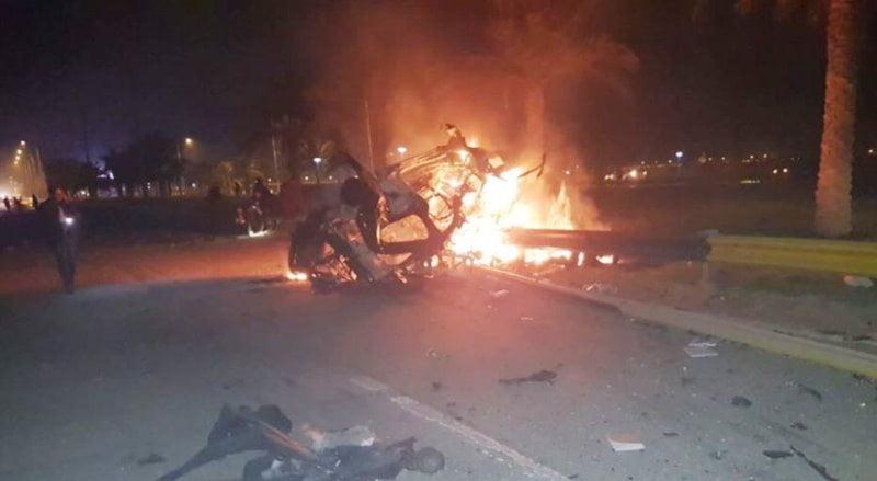 غارة أمريكية تقتل قاسم سليماني في العراق