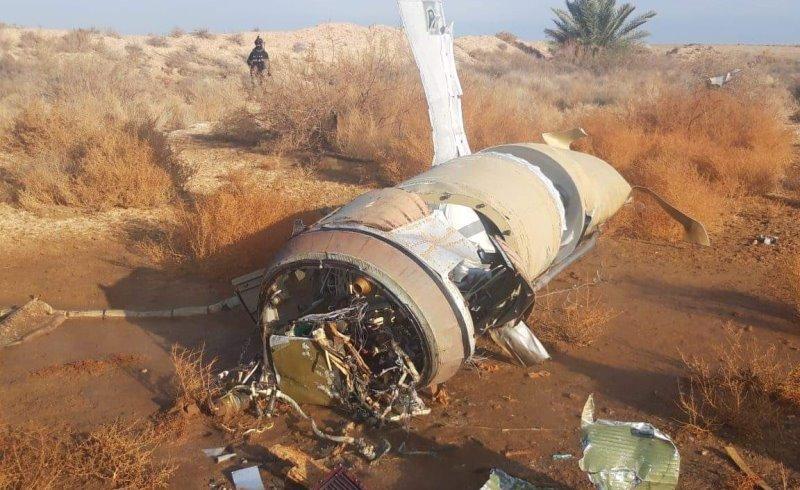 صاروخ من القصف الإيراني سقط قرب عين الأسد ولم ينفجر