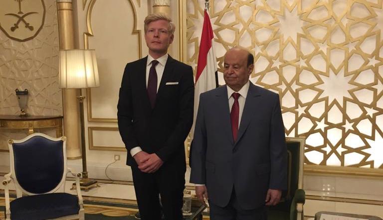 سفير الاتحاد الأوروبي لدى اليمن هانس جروندبرج