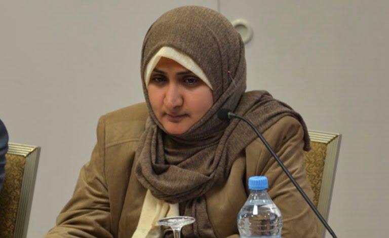الناشطة اليمنية ألفت الدبعي تستقيل من حزب الإصلاح