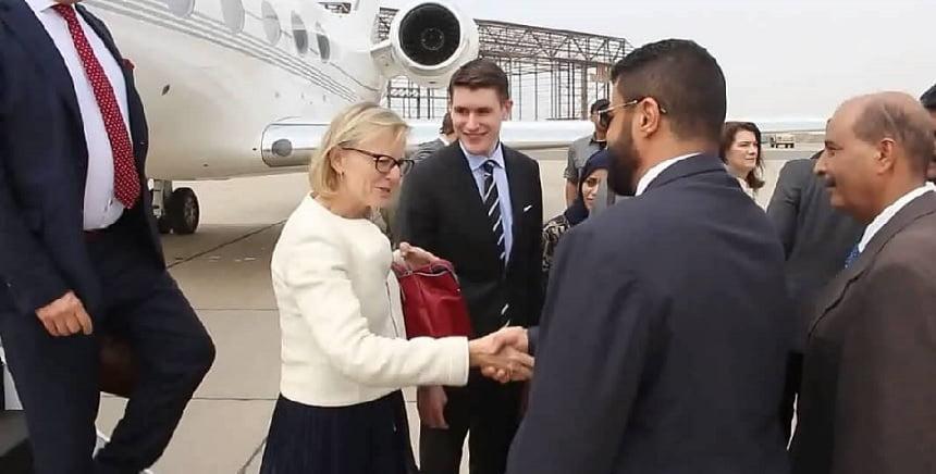 وزيرة خارجية السويد في عدن بعد الرياض لبحث جهود السلام