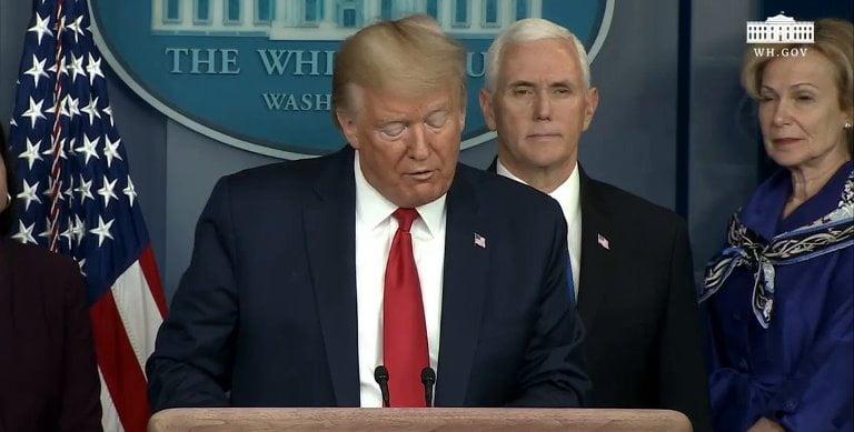ترامب يعلن قرارات بشأن كورونا