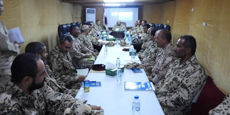 اجتماع قيادات المقاومة الوطنية في الساحل الغربي