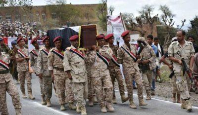 جنازة عسكرية توديع العميد عدنان الحمادي