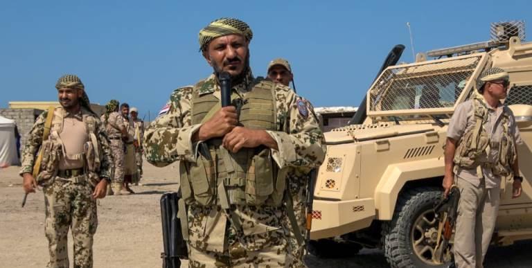 قائد قوات المقاومة الوطنية طارق صالح في خطاب سابق