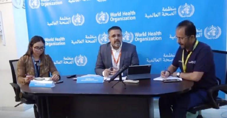 إحاطة الصحة العالمية حول كورونا في اليمن