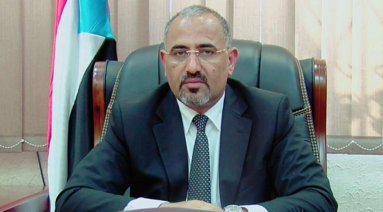 عيدروس الزبيدي رئيس المجلس الانتقالي اجراءات مواجهة كورونا