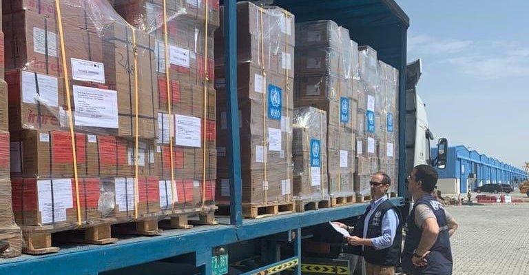 السعودية تنقل إمدادات الصحة العالمية لمواجهة كورونا في اليمن