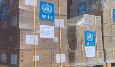 إمدادات الصحة العالمية لمواجهة كورونا في اليمن