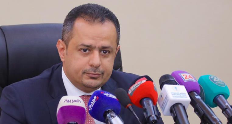 رئيس الحكومة في اليمن معين عبدالملك