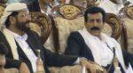 اللواء حسين العجي العواضي مع محافظ مأرب سلطان العرادة