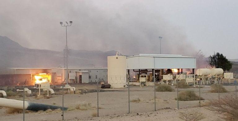 قصف الحوثيين محطة صافر في صرواح مأرب خلال الهدنة