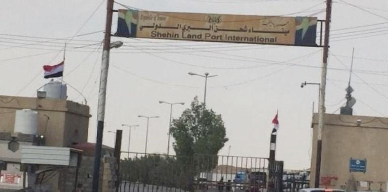 منفذ شحن في المهرة حدود عمان شرق اليمن