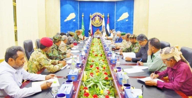 اجتماع المجلس الانتقالي الجنوبي وإعلان الطوارئ والإدارة الذاتية