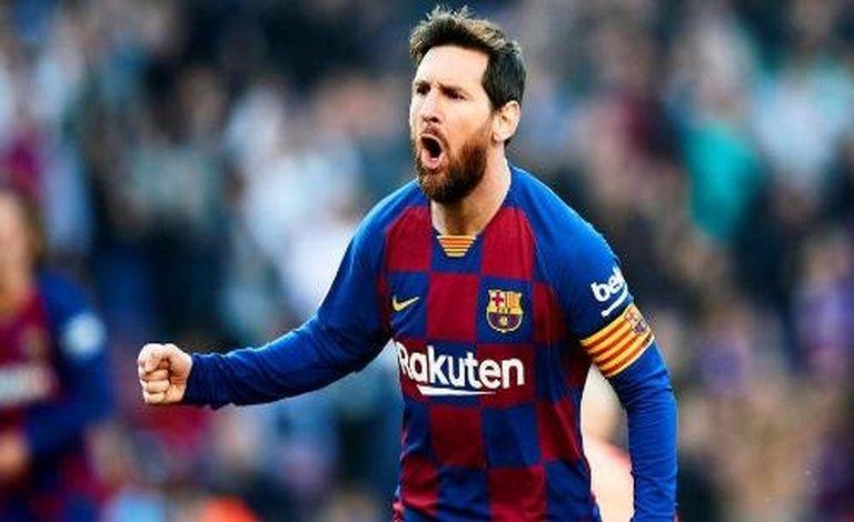 ميسي: التوقف قد يساعد برشلونة على التتويج بدوري الأبطال