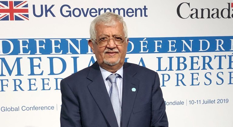 ياسين سعيد نعمان سفير اليمن في بريطانيا