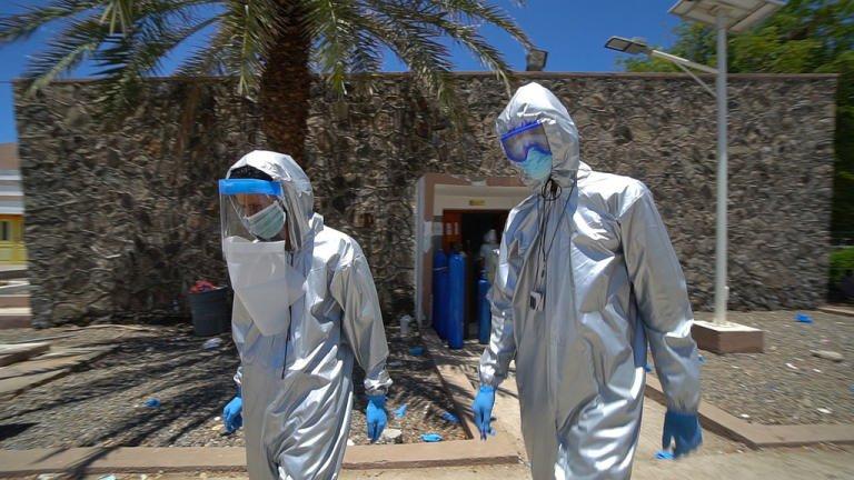 أطباء اليونيسف الأمم المتحدة في ظل انتشار كورونا في اليمن