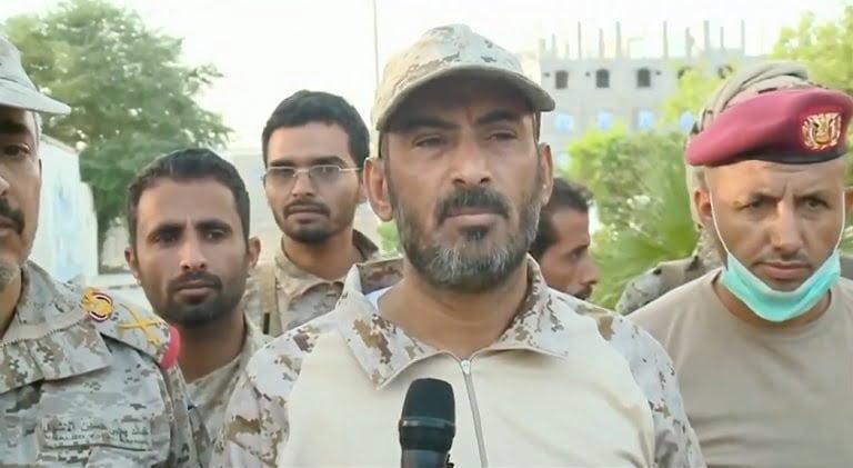 رئيس الأركان صغير عزيز في تشييع نجله مأرب وسط اليمن