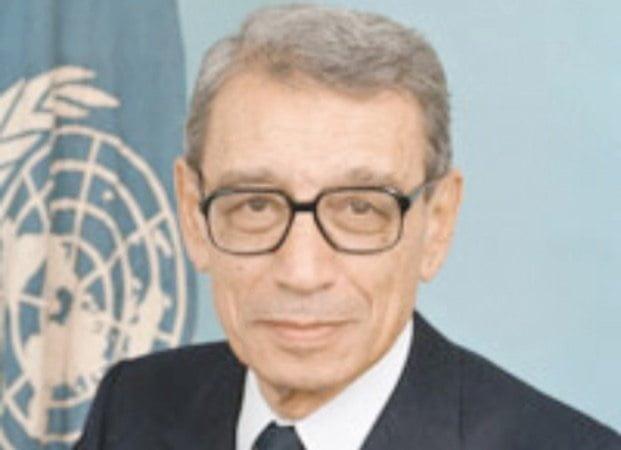 بطرس غالي أمين الأمم المتحدة الأسبق