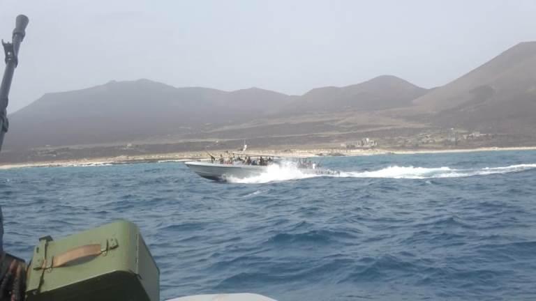 قوات خفر السواحل اليمنية في البحر الأحمر حنيش