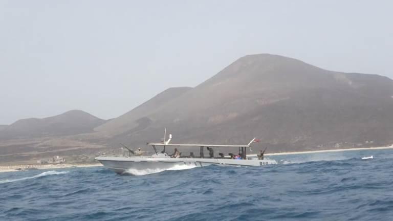 قوات خفر السواحل اليمنية في جزيرة حنيش