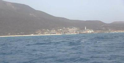جزيرة حنيش اليمنية في البحر الأحمر