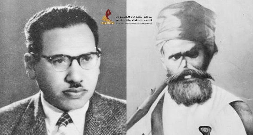 الشيخ علي ناصر القردعي والأديب علي أحمد باكثير