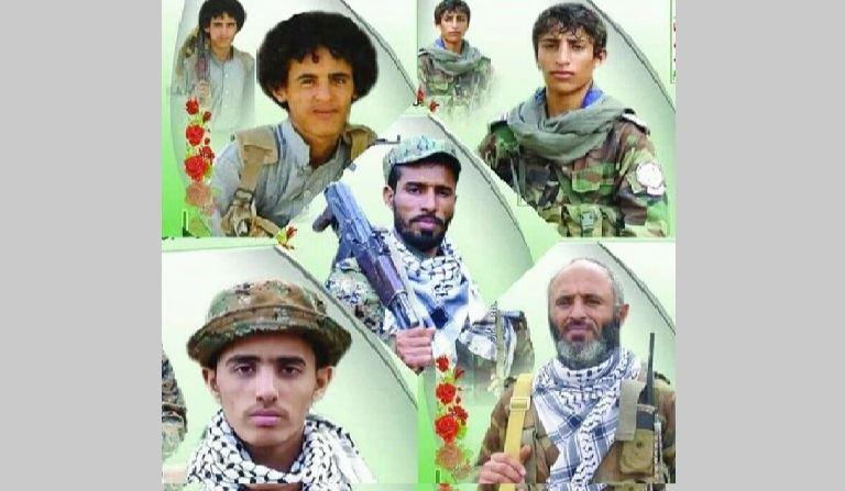 الحوثيون يشيعون ستة قتلى من آل الوشلي انضموا لـ170 من نفس القرية