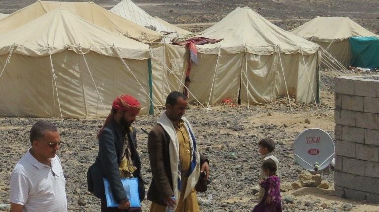 الوحدة التنفيذة لإدارة مخيمات النازحين في اليمن